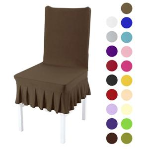Skirted Dining Chair Covers